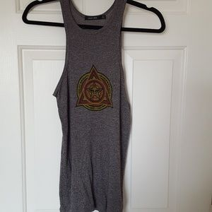 Graphic Obey Tank Top